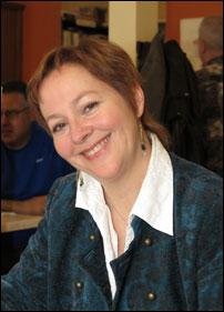 Nancy R. Lange anime la soirée Femmes de paroles.