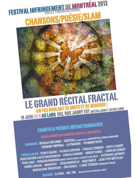 Le grand récital fractal