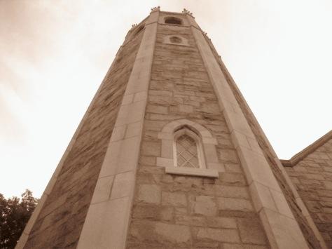 Clocher d'église à Verdun