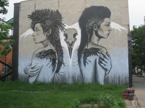 Murale à Saint-Henri