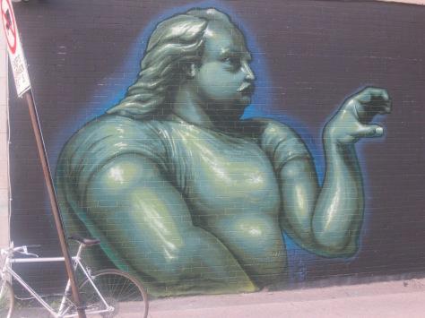 Louis Cyr? (murale dans Saint-Henri)