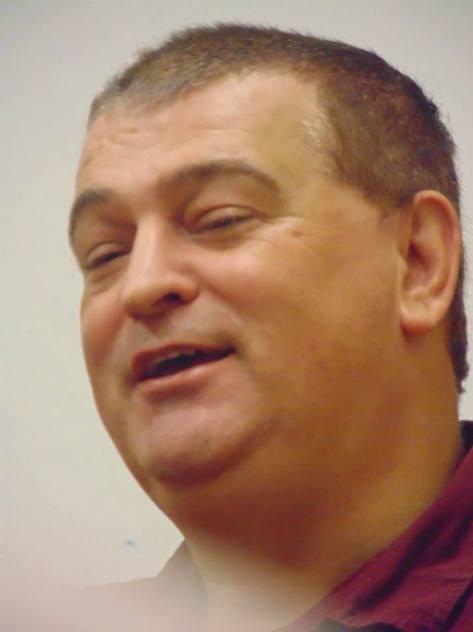 Réjean Roy, éditeur de l'Arc-en-ciel littéraire et des Éditions de l'étoile de mer.